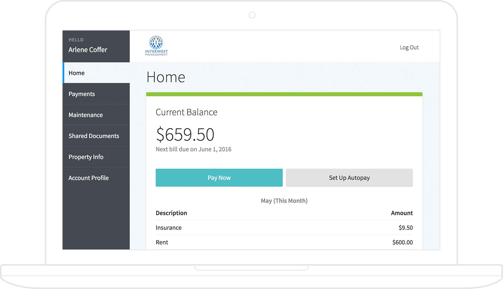 AppFolio - Online Rent Payments